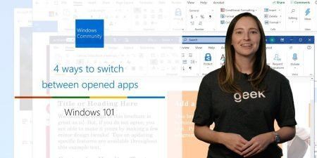 Four simple ways to switch between Windows apps