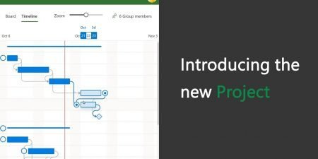 Introducing the redesigned Microsoft Project