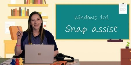 Multitasking made easy with Snap Assist