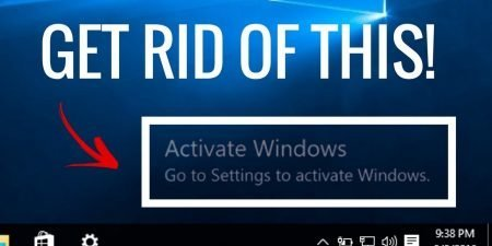 Windows 10 Activation Message