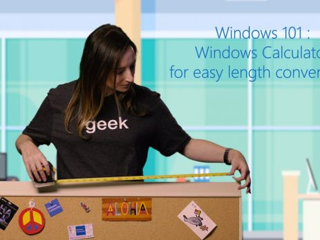 Windows Calculator for easy length conversions